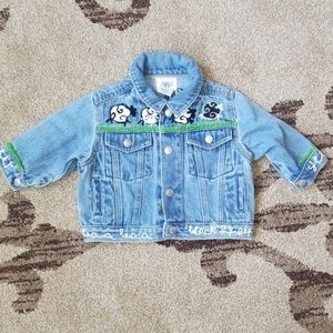 Baby Gap Jean embroidered jacket